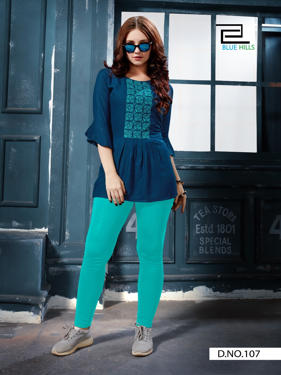 Vee Fab India Re-bounce Rayon With Embroidery Work Readymade Short Top At Wholesale Rate