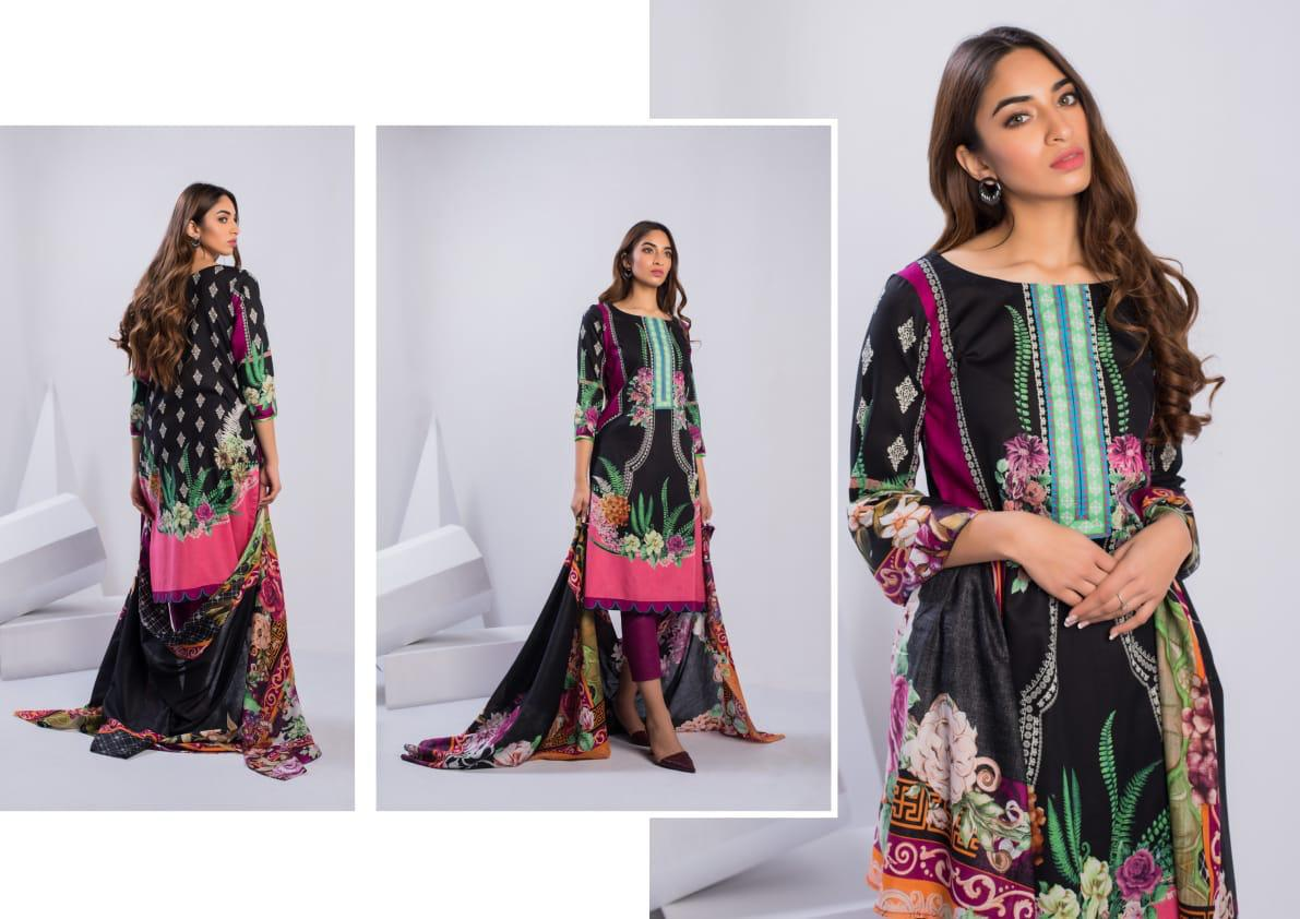 Zs Textiles Sahil Printed Collection Vol 3 Heavy Printed Cambric Cotton Casual Wear Dress Material At Wholesale Rate