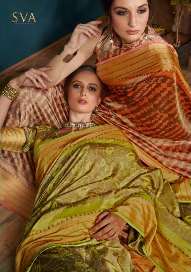 Sva Satakshi Designer Heavy Silk Traditional Sarees Collection At Wholesale Rate
