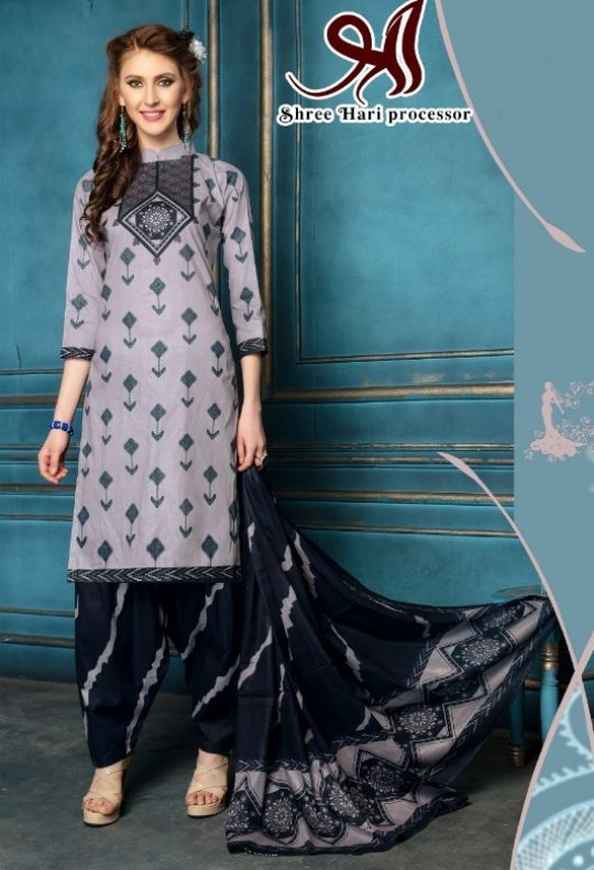 4ad1662e60 Shree Hari The New Era Printed Cotton Dress Material at Wholesale Rate