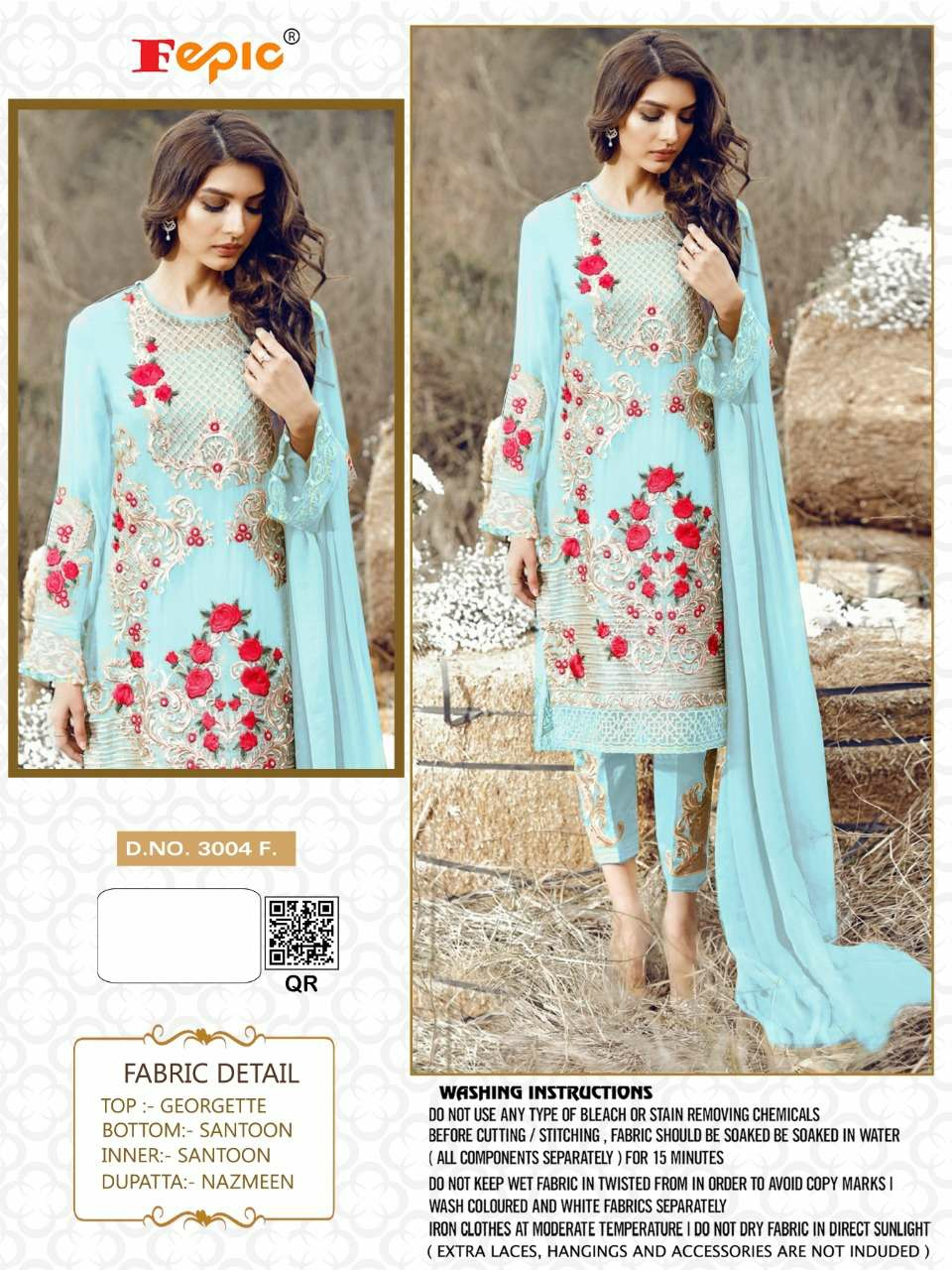 Pakistani Dress Materials With Heavy Work And Embroidery At Wholesale Rates
