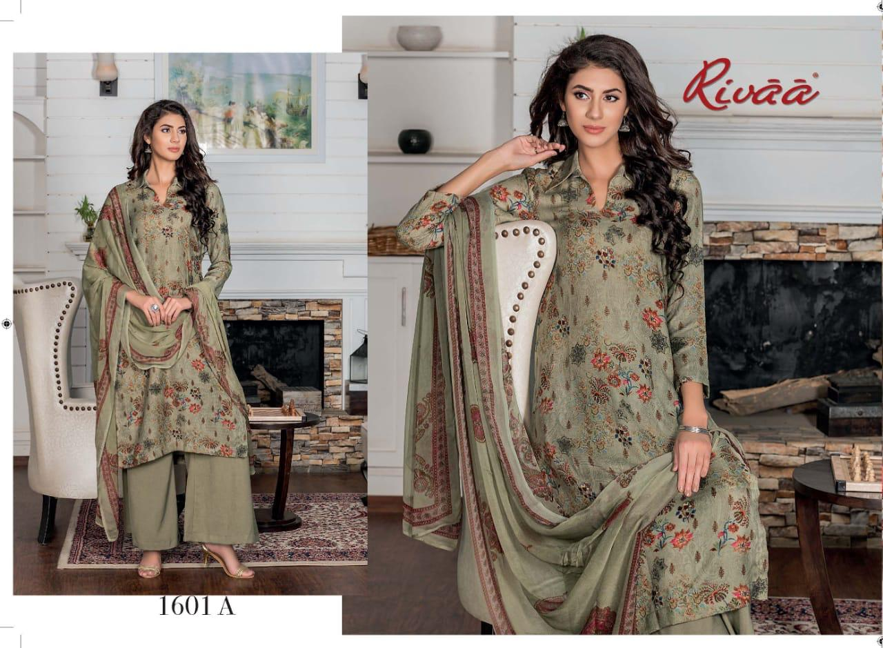 rivaa exports presents gulmohar pashmina winter dress ...